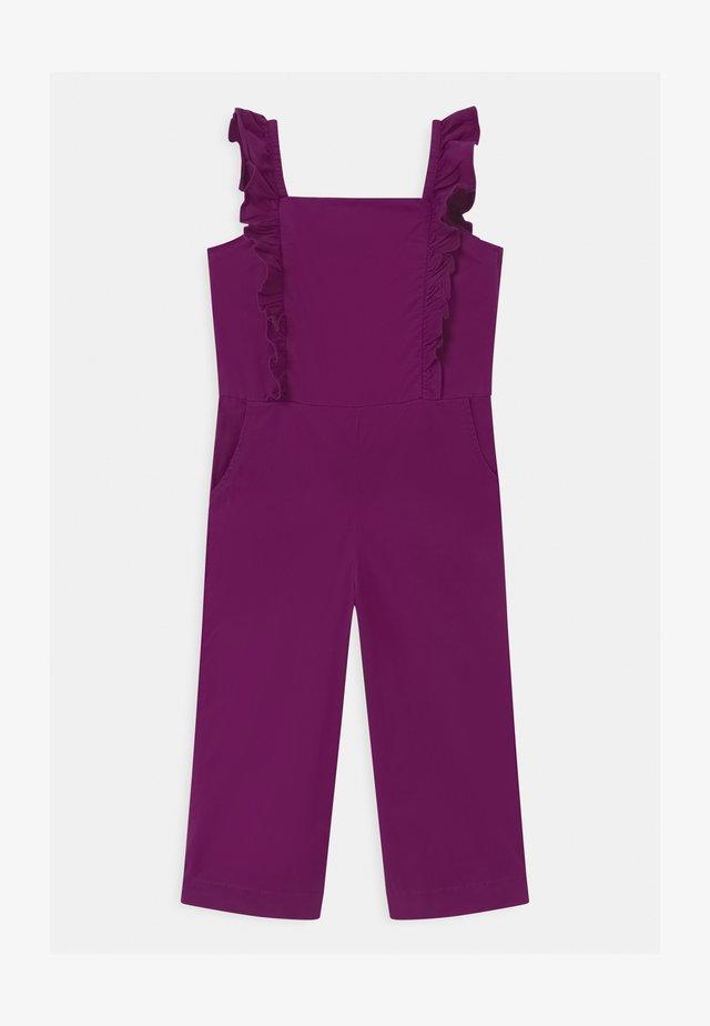 GIRLS ZIP  - Tuta jumpsuit - purple wine