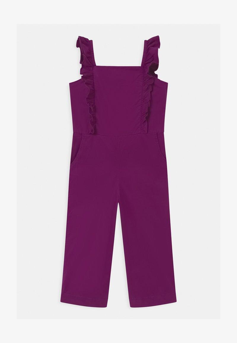 GAP - GIRLS ZIP  - Jumpsuit - purple wine