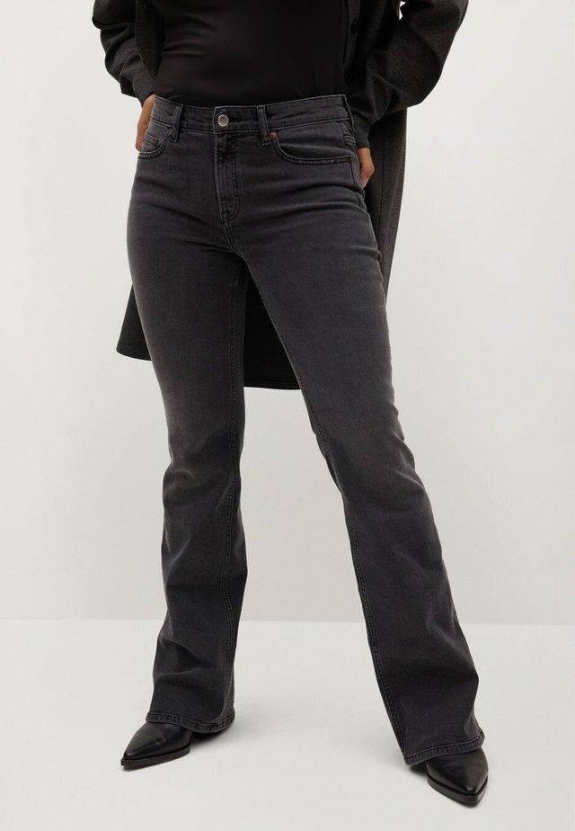 ZENDAYA - Bootcut jeans - denim grau