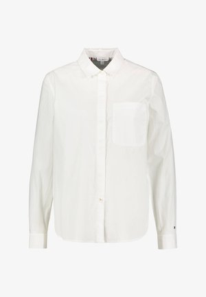"TOMMY HILFIGER DAMEN HEMDBLUSE ""LEA"" LANGARM - Button-down blouse - white"