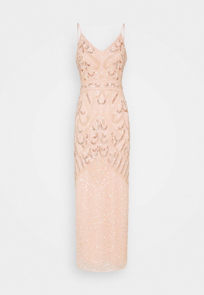 SISTA GLAM PETITE - FLORY - Společenské šaty - nude
