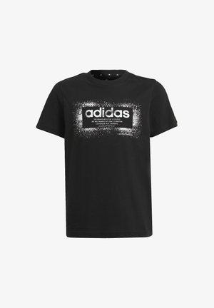 B GFX TEE 1 - T-shirt z nadrukiem - black