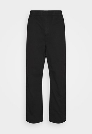 CARSON PANT MORAGA - Trousers - black stone washed