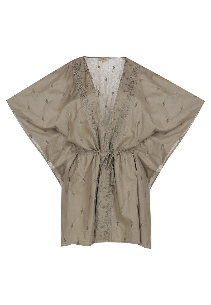 usha - Summer jacket - taupe