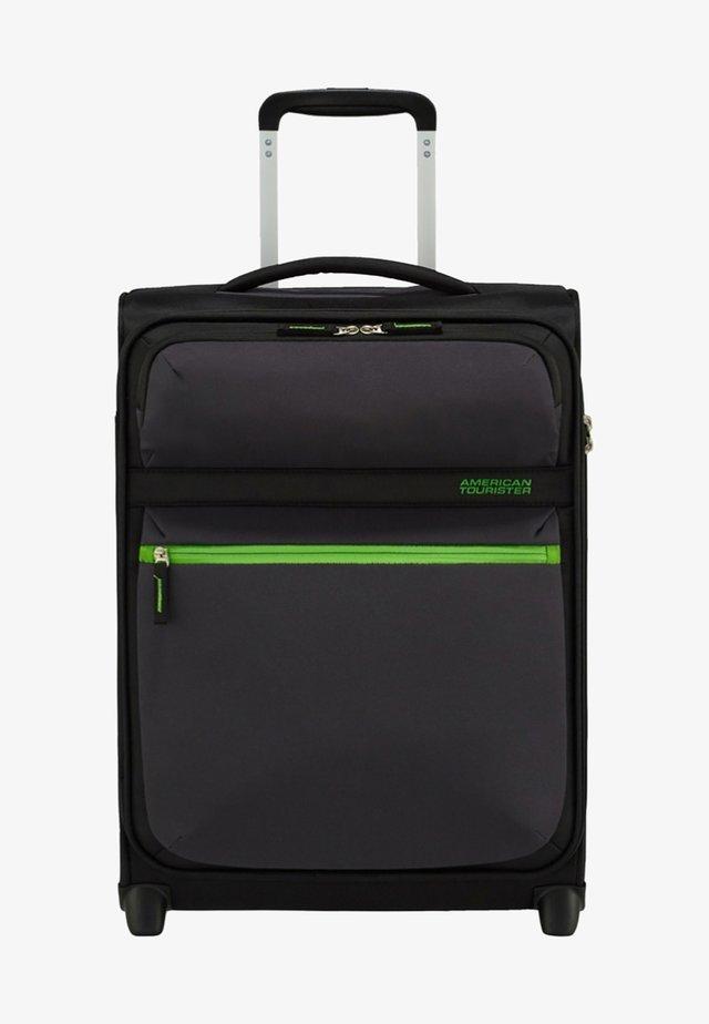 MIT 2 ROLLEN - Wheeled suitcase - volt black