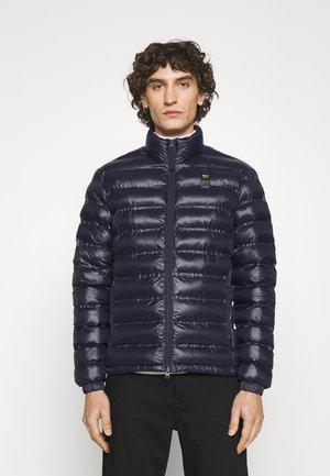 REPREVE STAND UP COLLAR - Light jacket - navy