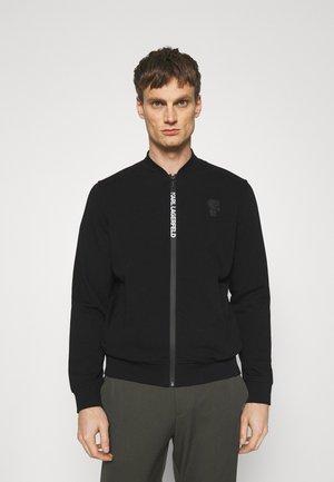 ZIP JACKET - Bluza rozpinana - black