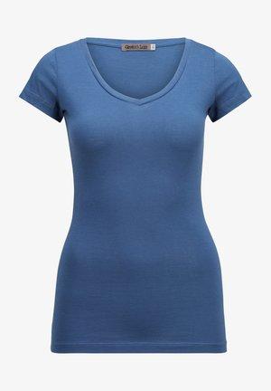 SHORT SLEEVE - Basic T-shirt - acero