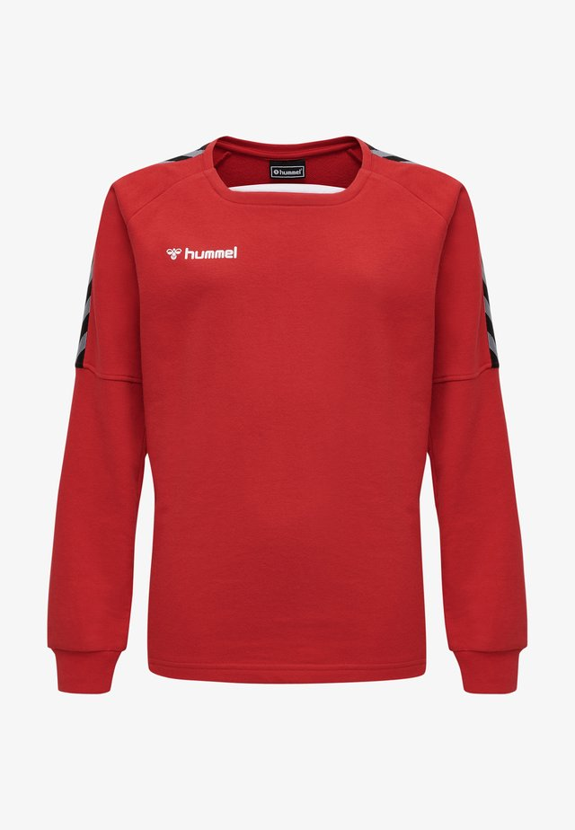 Sweatshirt - true red
