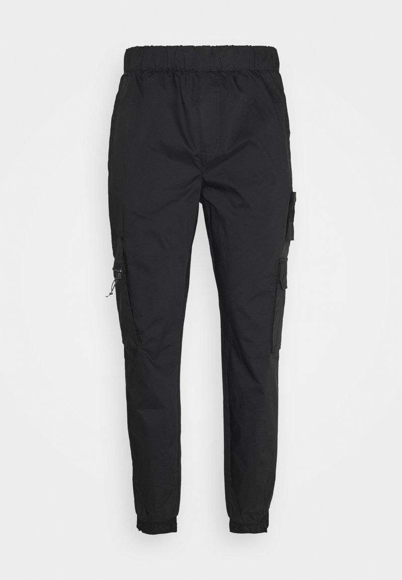 Alessandro Zavetti - ARANOVA COMBAT - Cargo trousers - black