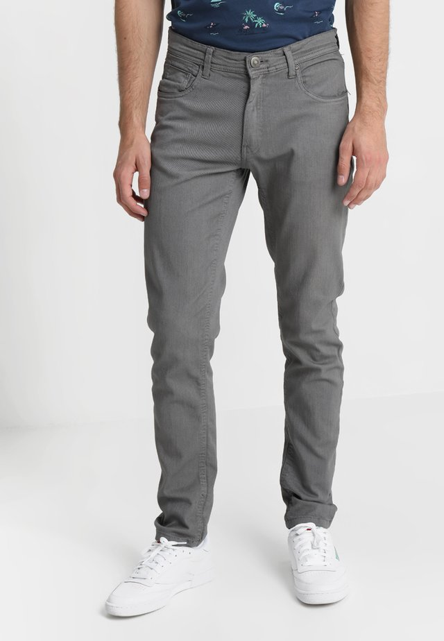 BASIC STRETCH - Slim fit jeans - grey