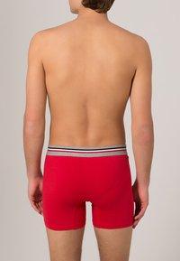 Jockey - COTTON STRETCH LONG LEG TRUNK 3 PACK - Boxerky - stone grey melange - 1