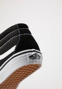 Vans - SK8-MID REISSUE - Zapatillas altas - black/true white - 2