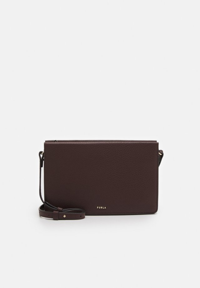 BABYLON MINI CROSSBODY - Across body bag - testa di moro