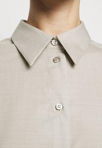 House of Dagmar - GINA  - Button-down blouse - light grey - 5