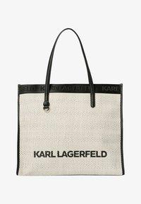 KARL LAGERFELD - Tote bag - black white - 0