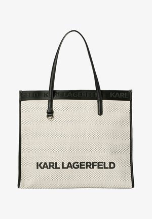 Tote bag - black white