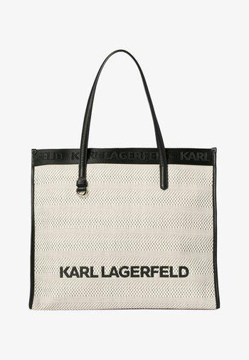 Tote bag - black white