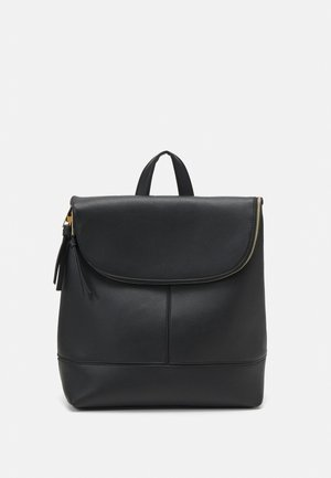 FRANK FOLDOVER BACKPACK - Ryggsekk - black