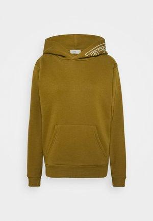 WOMEN - Hoodie - golden brown