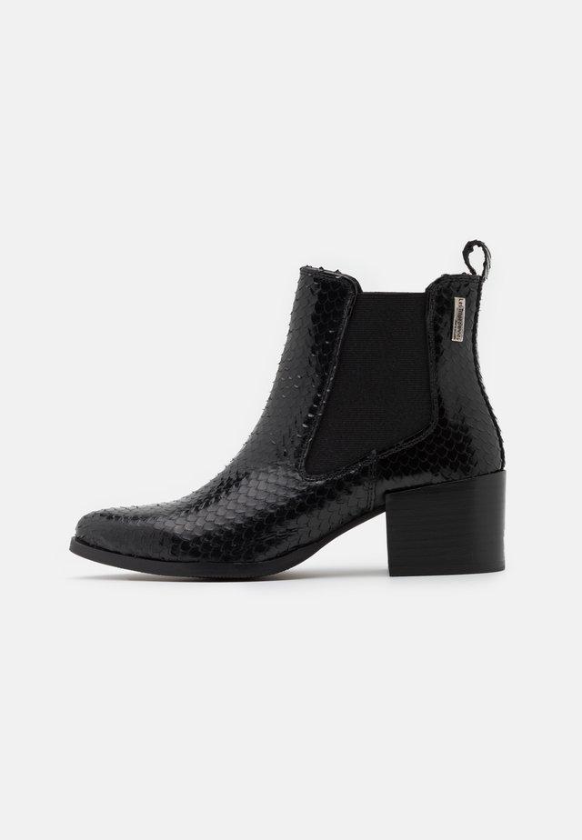 KIWI - Ankelstøvler - noir
