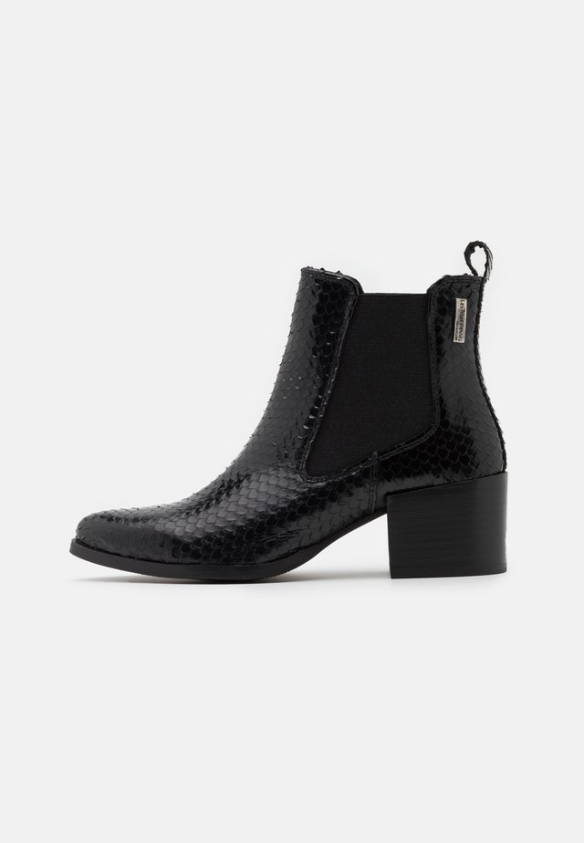 KIWI - Korte laarzen - noir