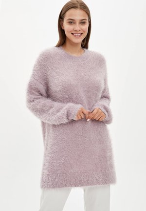 Fleece trui - pink