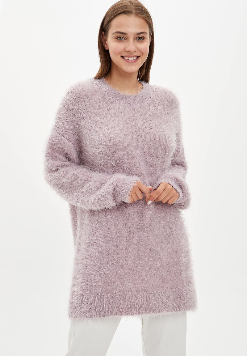 DeFacto - Fleece jumper - pink