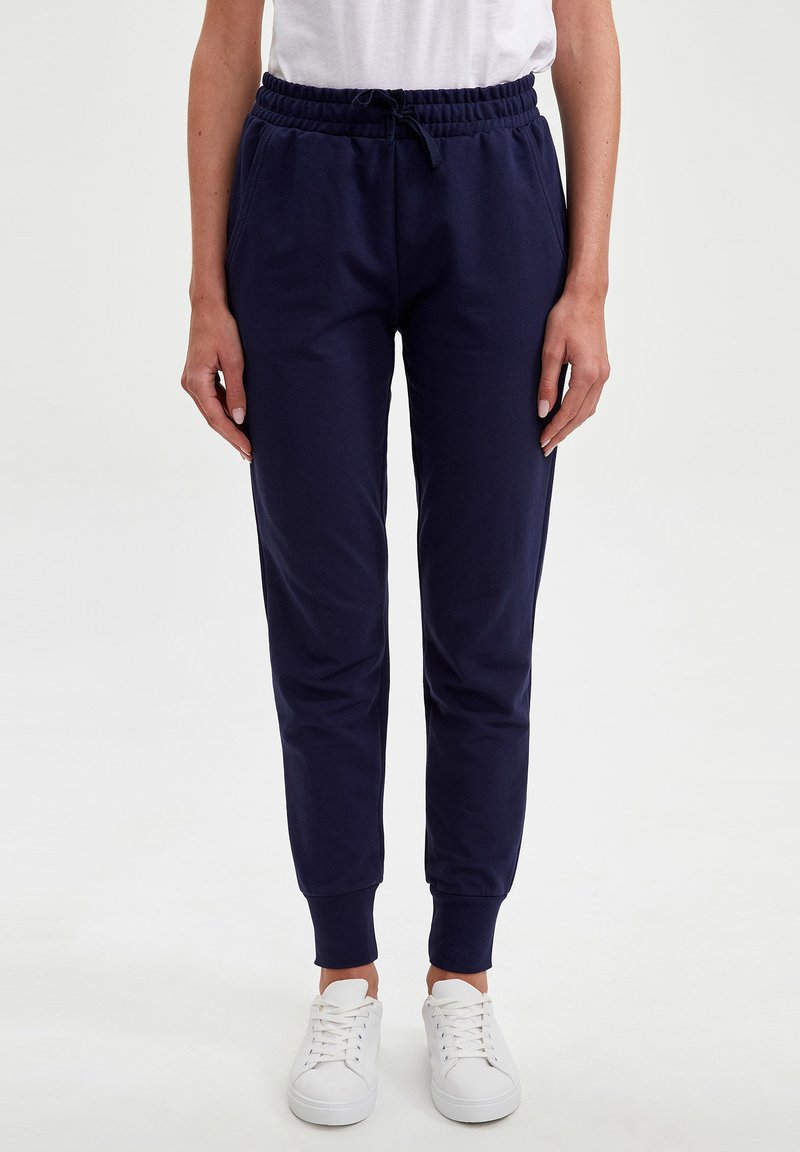 DeFacto - Tracksuit bottoms - navy