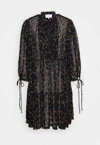 DESIGNERS REMIX - KIELY DRESS - Day dress - black/camel - 5