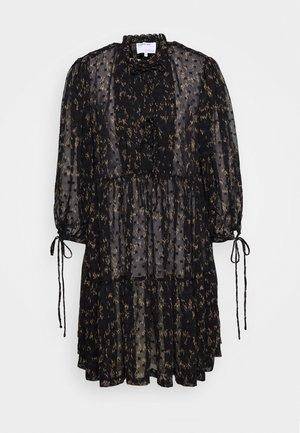 KIELY DRESS - Day dress - black/camel