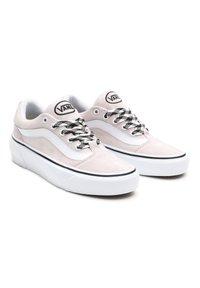 Vans - UA Shape NI - Skate shoes - (suede)hushedviolet/trwht - 2