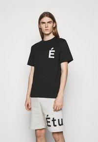 Études - PATCH UNISEX - T-shirt con stampa - black - 0