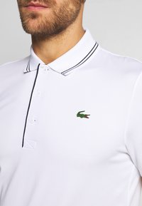 Lacoste Sport - BASIC GOLF - Sportshirt - white/navy blue - 5