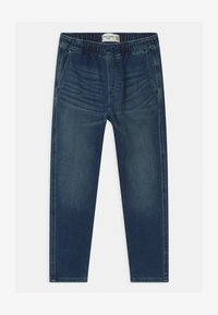 Abercrombie & Fitch - SNEAKER - Relaxed fit jeans - dark-blue denim - 0