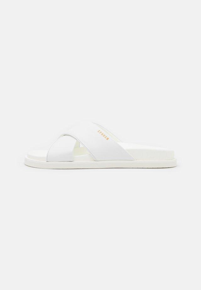 CPH712 - Sandalias planas - white