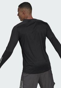 adidas Performance - OWN THE RUN LONG-SLEEVE TOP - Sports shirt - black - 2