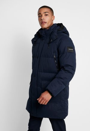 LONG LENGTH - Winter coat - blue