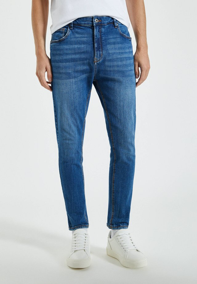 Jeans slim fit - blue-grey