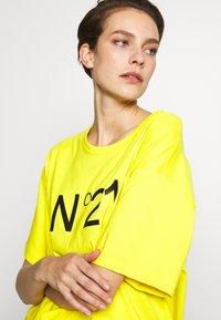 N°21 - Print T-shirt - mimosa - 4