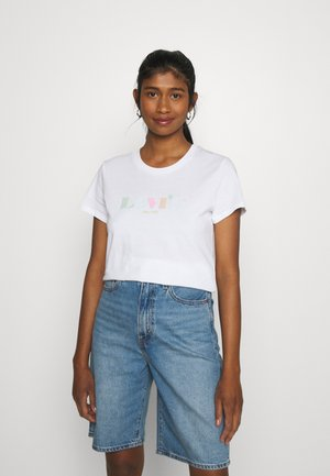 THE PERFECT TEE - T-shirt z nadrukiem - white