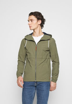 JJENIKOLAJ JACKET  - Summer jacket - olive night