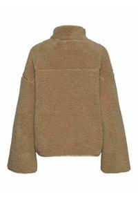 Noisy May - ANORAK - Fleece jacket - beige - 6