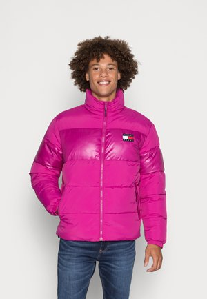 TONAL COLORBLOCK PUFFER - Winter jacket - autumn plum