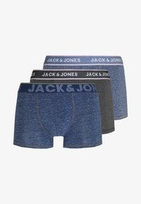 Jack & Jones - TRUNKS 3 PACK - Panties - navy blazer/dark grey melange - 5