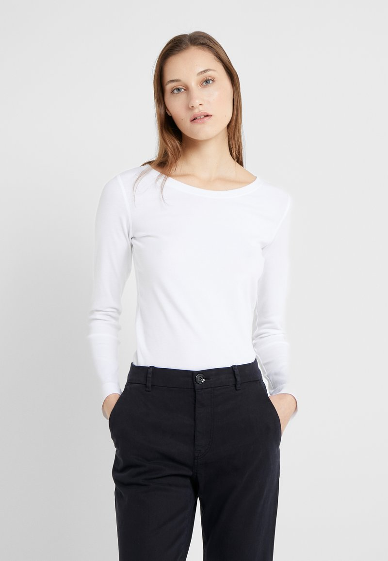 Marc Cain - T-shirt à manches longues - white