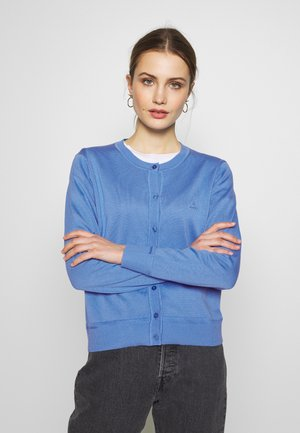 LIGHT CREW CARDIGAN - Kardigan - pacific blue