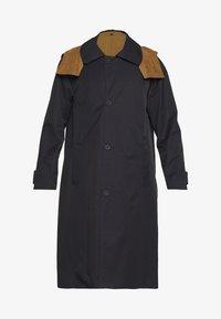 Gloverall - REVERSABLE OVERCOAT - Zimní kabát - navy - 7