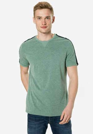 EXERCISE UR MIND - Print T-shirt - grünmeliert
