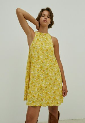 JILLIAN - Day dress - gelb